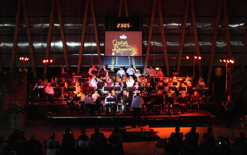 La M.M.S lors de son Concert de Printemps (2015)
