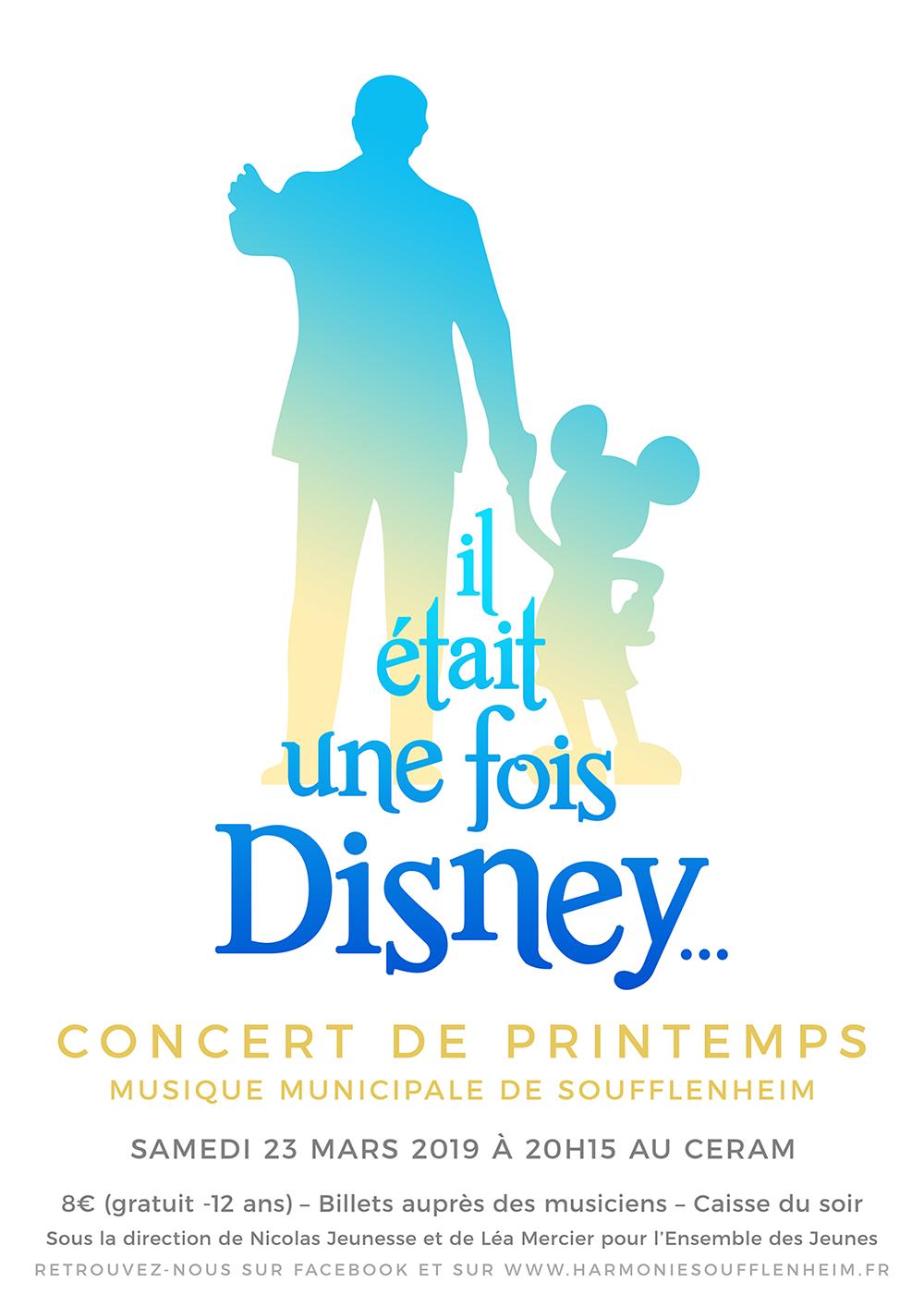 Concert de Printemps «Il était une fois Disney…»